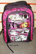 MOCHILA GRANDE MONSTER HIGH NIGHTMARE