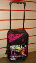 MOCHILA CARRO PEQUE�A MONSTER HIGH