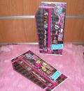 SET PAPELERIA 4PZAS MONSTER HIGH