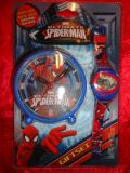 DESPERTADOR Y RELOJ SPIDERMAN