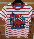 camiseta spiderman rayas