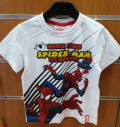 camiseta spiderman blanca