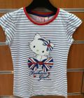 camiseta Hello kitty rayas